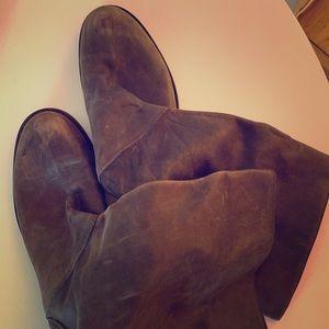 J. Crew Italian Brown Leather Boots 11